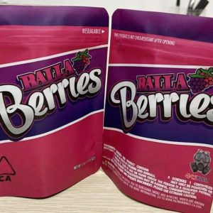 A Balla Berries is a rare strain, nearly 50/50 percent indica and Sativa, which is believed to be the result of an unknown blend of two strains, nearly 40 percent indica and 60 percent Sativa